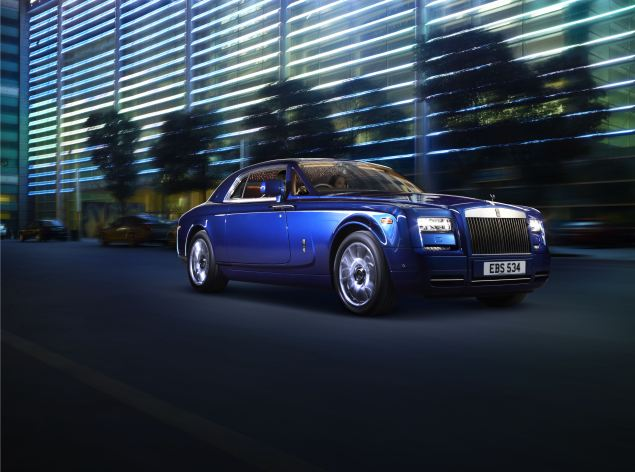 The ultimate personal car? The Rolls-Royce Phantom Series II Coupé