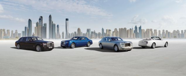 Rolls-Royce Phantom Series II family