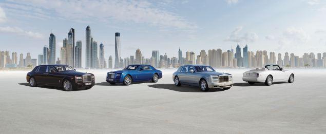 Rolls-Royce Phantom Series II family