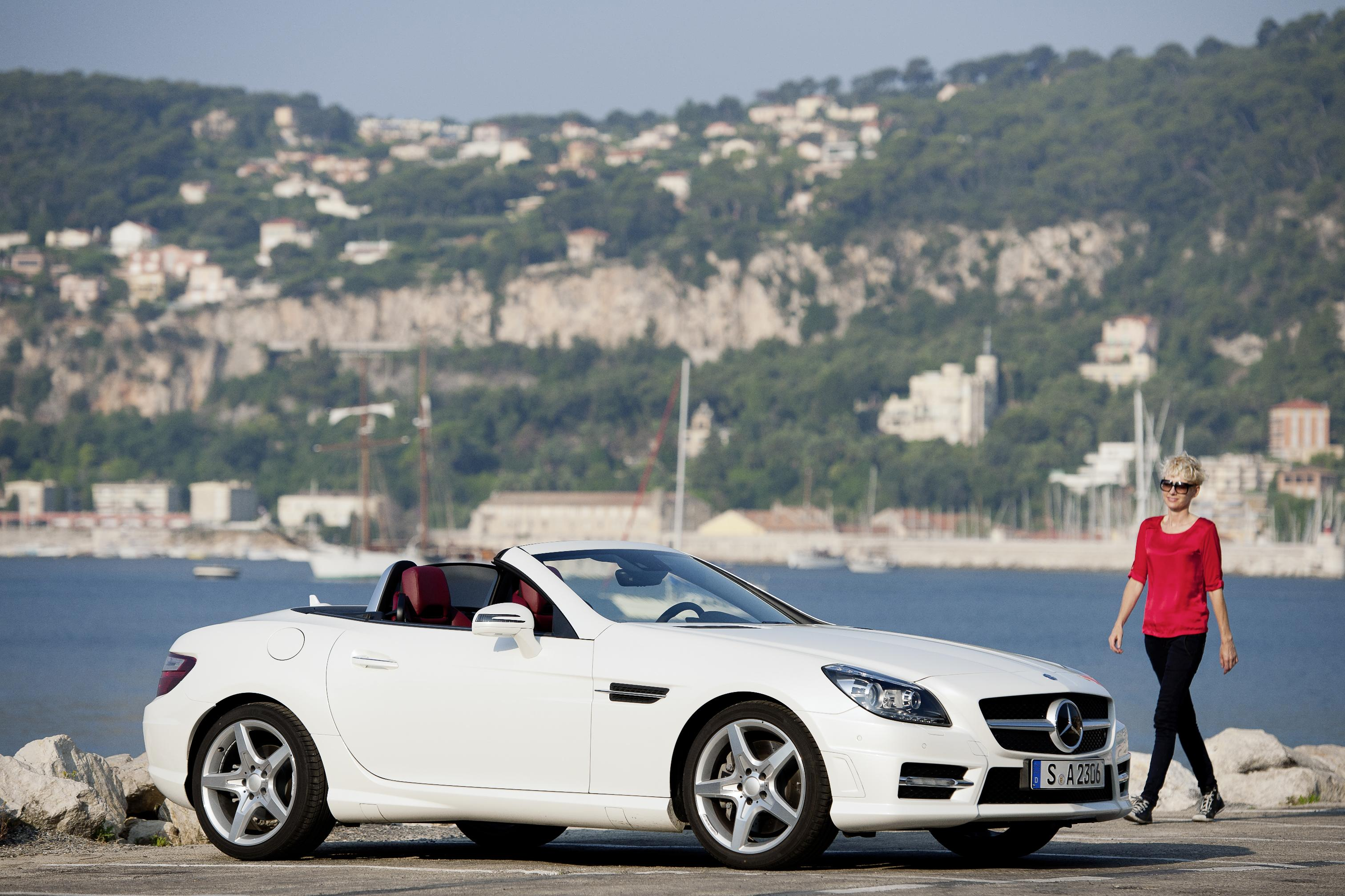 Mercedes Benz Slk 250 Cdi Blueefficiency Amg Sport First