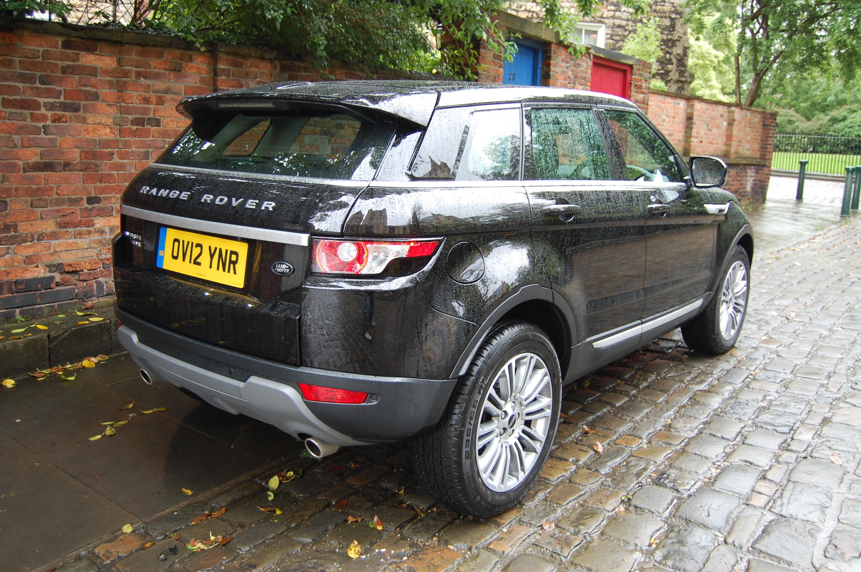 Land Rover Range Rover Evoque SD4 Prestige LUX Road Test