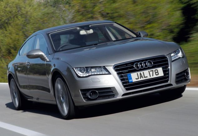 Audi's A7 Sportback may look familiar from the front...