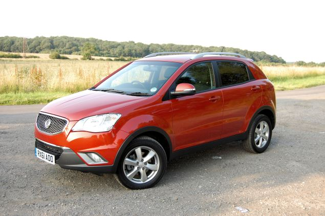 SsangYong's Korando - makes much more sense the cheaper it is.