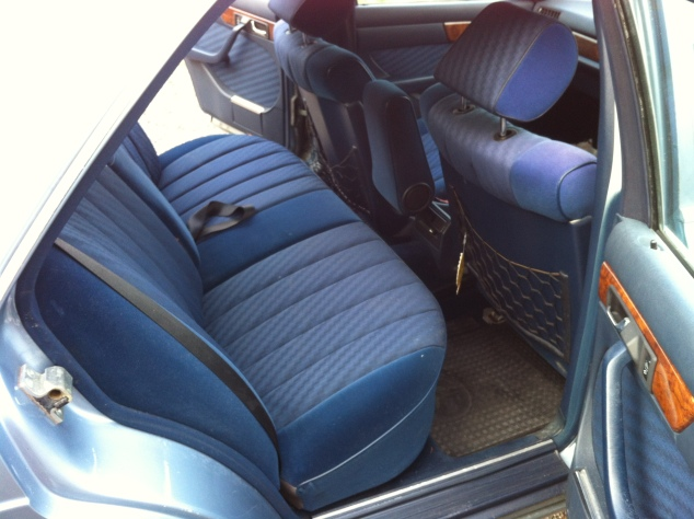 Generous rear passenger seats make for a comfortable ride