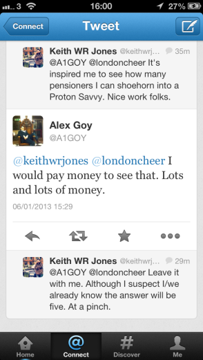 XCAR's Alex Goy throws down the gauntlet. And promises cash.