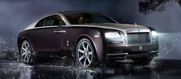 Rolls-Royce's new Wraith coupe