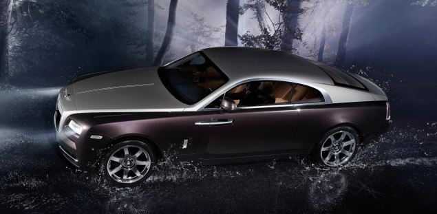 Wraith is Rolls-Royce's first coupe since the Camargue