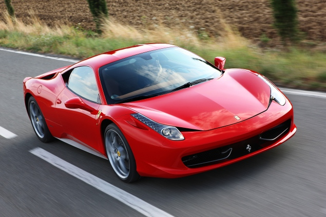 Ferrari's 458 Italia: Vying for the accolade of being the world's great sports car