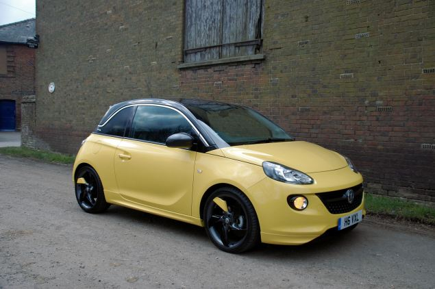 This is Vauxhall's new premium small hatch - the ADAM