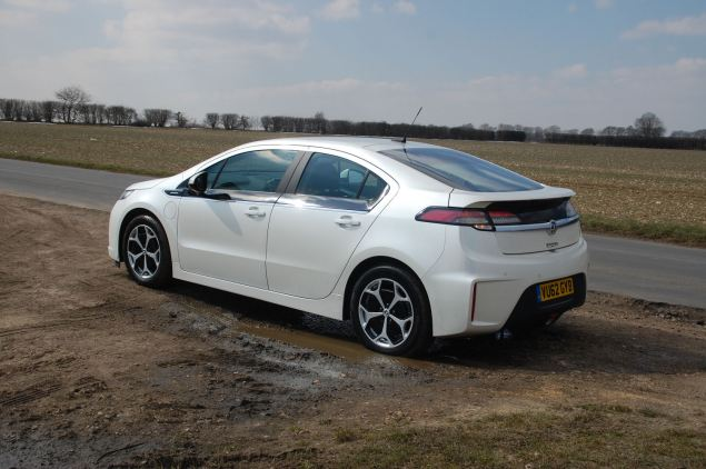 There's certainly no mistaking the Ampera for a Prius