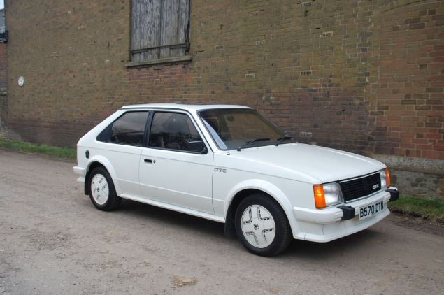 Crisp styling of the Mk I Astra GTE still turns heads today