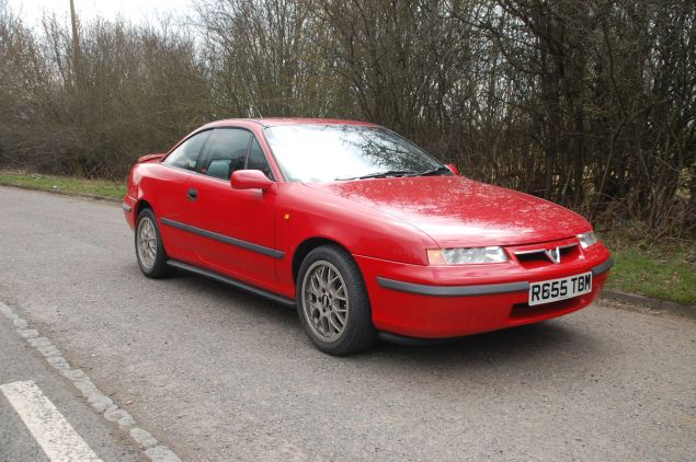 The run-out Vauxhall Calibra in SE9 form