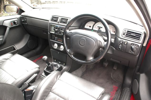 Even by 1996 the Calibra's dashboard was barely distinguishable from the then defunct Mk III Cavalier's