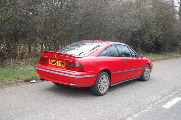 Elegant styling and tapering glasshouse gave the Calibra world beating aerodynamics when new in 1989