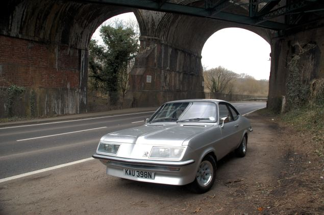 Officially it might be the Vauxhall High Performance Firenza but everyone knows it as the Droop Snoot