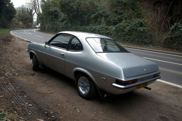 The High Performance Firenza Droop Snoot was styled when Droop Tails were also fashionable