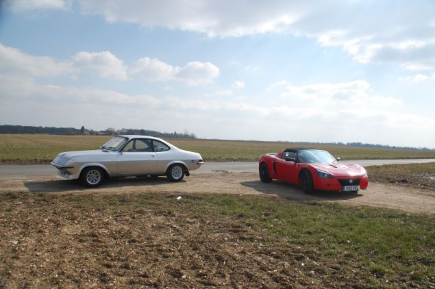 Fast Vauxhalls old and more recent: High Performance Firenza 'Droop Snoot' and VXR220