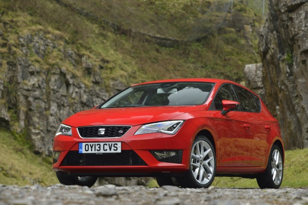 SEAT's latest Leon in sporty FR guise