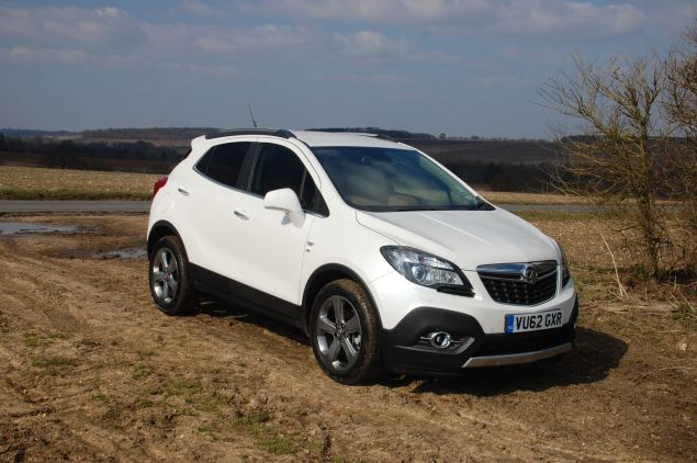 Vauxhall's Mokka is an entry in the small crossover market