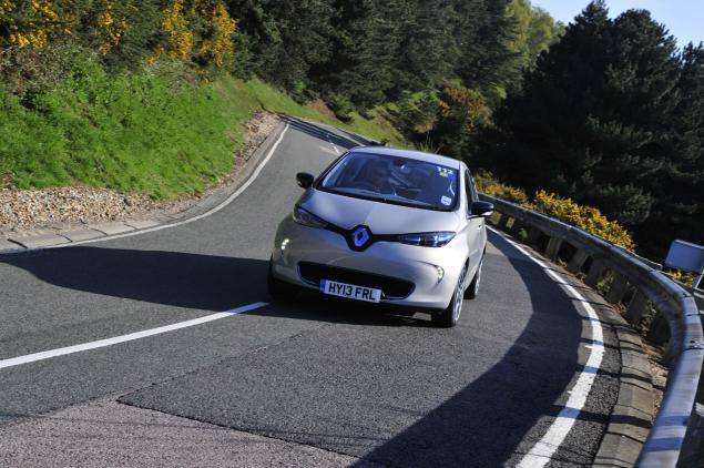 Renault Zoe - you know that when you think you've experienced the next big thing? That.