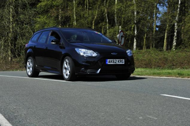 Ford Focus ST estate - it's the Sweeney, son, and we haven't had any dinner