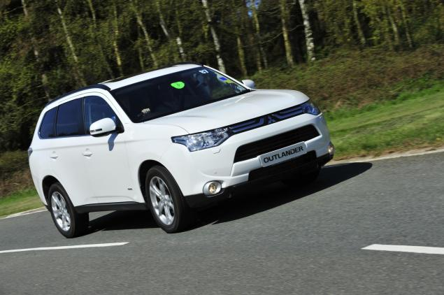 Mitsubishi Outlander - vastly improved but blink and you'll miss it