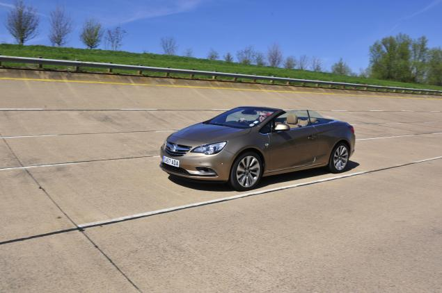 Vauxhall Cascada - what's underneath would have become a Saab convertible