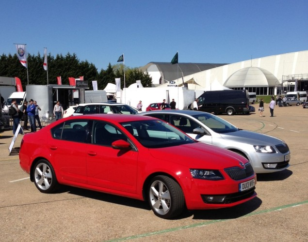 Skoda Octavia - improved over the already impressive former model