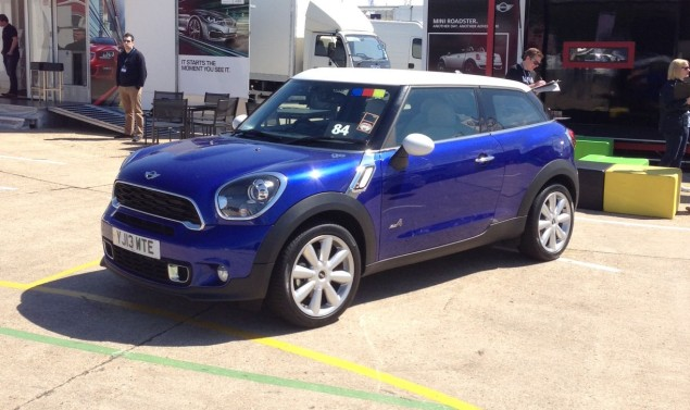 MINI Cooper SD Paceman - If the Countryman's the MINI Maxi, is the Paceman the MINI Midi?