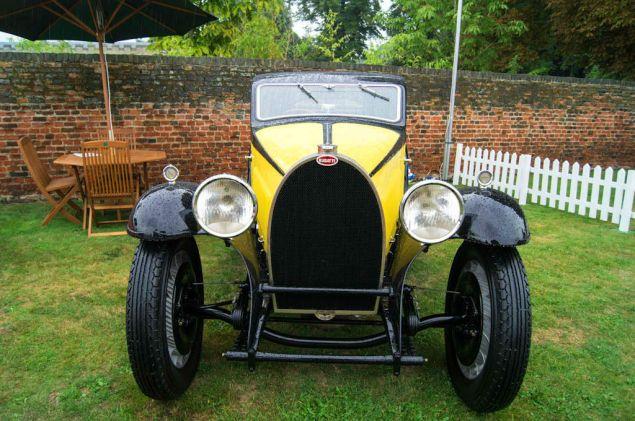 Salon Prive 2013 - Bugatti Type 46 Front - carwitter