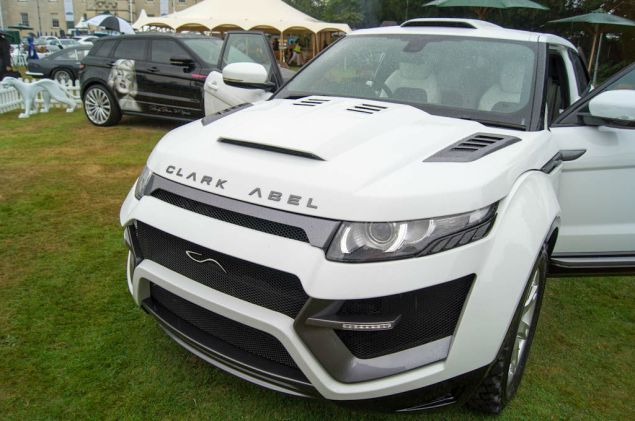 Salon Prive 2013 - Clark Able Evoque - carwitter
