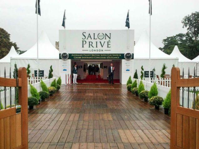 Salon Prive 2013 Entrance - carwitter
