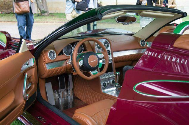 Salon Prive 2013 - Spyker B6 Venator Interior - carwitter