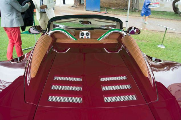 Salon Prive 2013 - Spyker B6 Venator Leather Pillars - carwitter