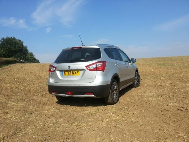 Suzuki SX4 S-Cross crossover SUV UK launch review Petroleum Vitae Keith Jones Oliver Hammond - diesel manual ALLGRIP