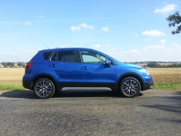 Suzuki SX4 S-Cross crossover SUV UK launch review Petroleum Vitae Keith Jones Oliver Hammond - Nissan Qashqai rival