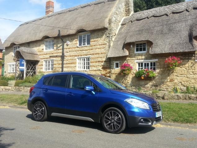 Suzuki SX4 S-Cross crossover SUV UK launch review Petroleum Vitae Keith Jones Oliver Hammond - petrol CVT
