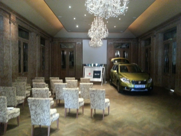 Suzuki SX4 S-Cross crossover SUV UK launch review Petroleum Vitae Keith Jones Oliver Hammond - presentation