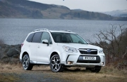 Subaru Forester D XC road test review Liam Bird Keith Jones Petroleum Vitae blog writer - photo - front