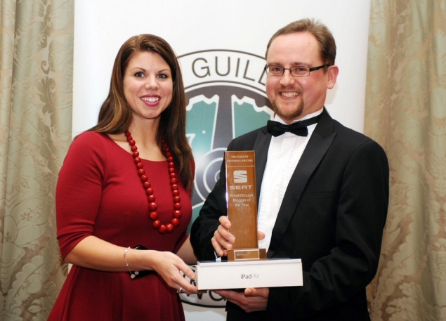 Car Motoring Blogger Chris Auty Driving Spirit wins SEAT GOMW Breakthrough Award 2013 photo6