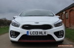 2014 Kia pro ceed GT road test review Keith Jones Oliver Hammond blogger Petroleum Vitae - taster photo - front grille