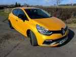 2014 Renaultsport Clio RS 200 EDC photo - front 34c
