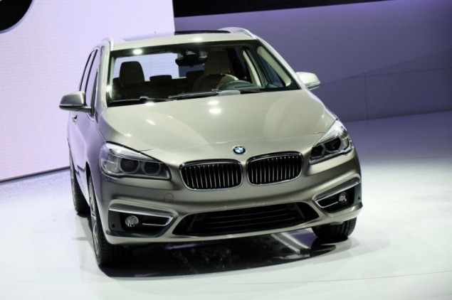 Keith Jones Petroleum Vitae blog - Geneva Motor Show 2014 - BMW 2 Series Active Tourer