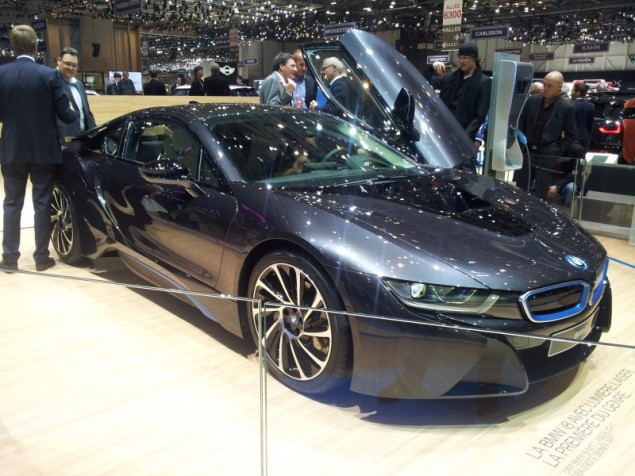 Keith Jones Petroleum Vitae blog - Geneva Motor Show 2014 - BMW i8