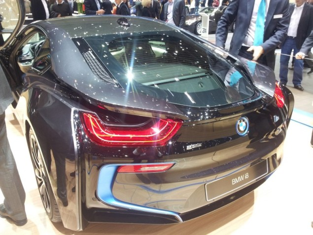 Keith Jones Petroleum Vitae blog - Geneva Motor Show 2014 - BMW i8b