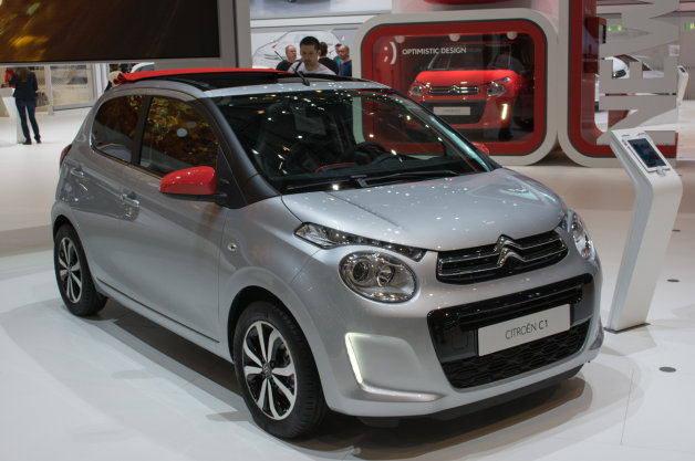 Keith Jones Petroleum Vitae blog - Geneva Motor Show 2014 - Citroen C1