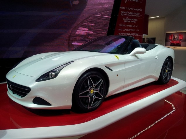 Keith Jones Petroleum Vitae blog - Geneva Motor Show 2014 - Ferrari California T