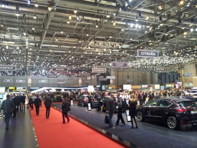 Keith Jones Petroleum Vitae blog - Geneva Motor Show 2014 - intro