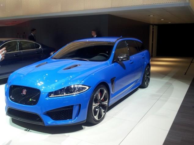 Keith Jones Petroleum Vitae blog - Geneva Motor Show 2014 - Jaguar XKR-S Sportbrake