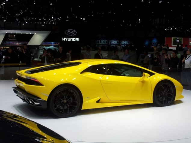 Keith Jones Petroleum Vitae blog - Geneva Motor Show 2014 - Lamborghini Huracan photo